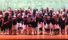 Festa de Natal da Ginástica Rítmica contou com 60 ginastas