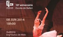 Escola de Ballet do Ginásio celebra o seu 10º aniversário com espetáculo comemorativo