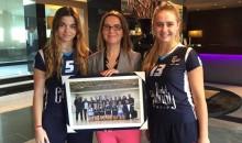 Seniores Femininos de Voleibol agradecem apoio do Hotel Cidnay