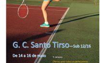 Ginásio organiza Torneio de Ténis Sub 12/16