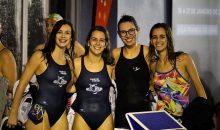 Estafeta 4x50m Livres Feminina sagra-se Campeã Nacional